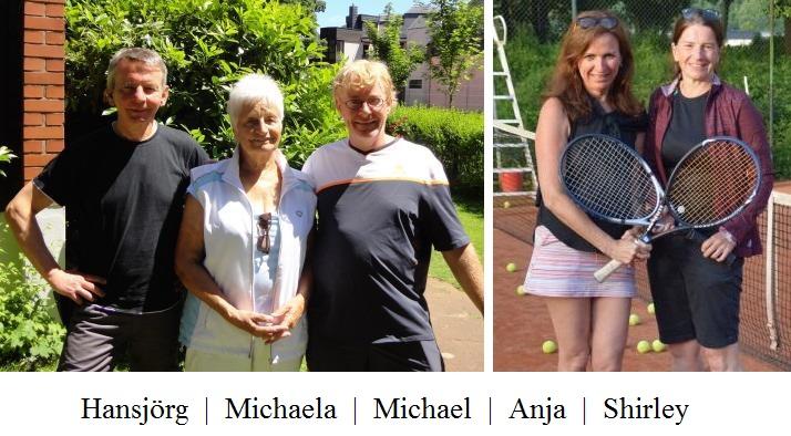 Der Vorstand des Internationalen Tennisclubs Bonn - Bad Godesberg e.V.